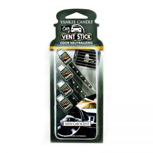 Ambientador de coche Vent Stick. Aroma New Cart Scent. 4 Sticks.